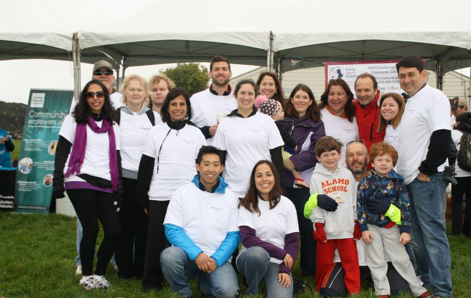 The Madison Team at a JDRF Walk